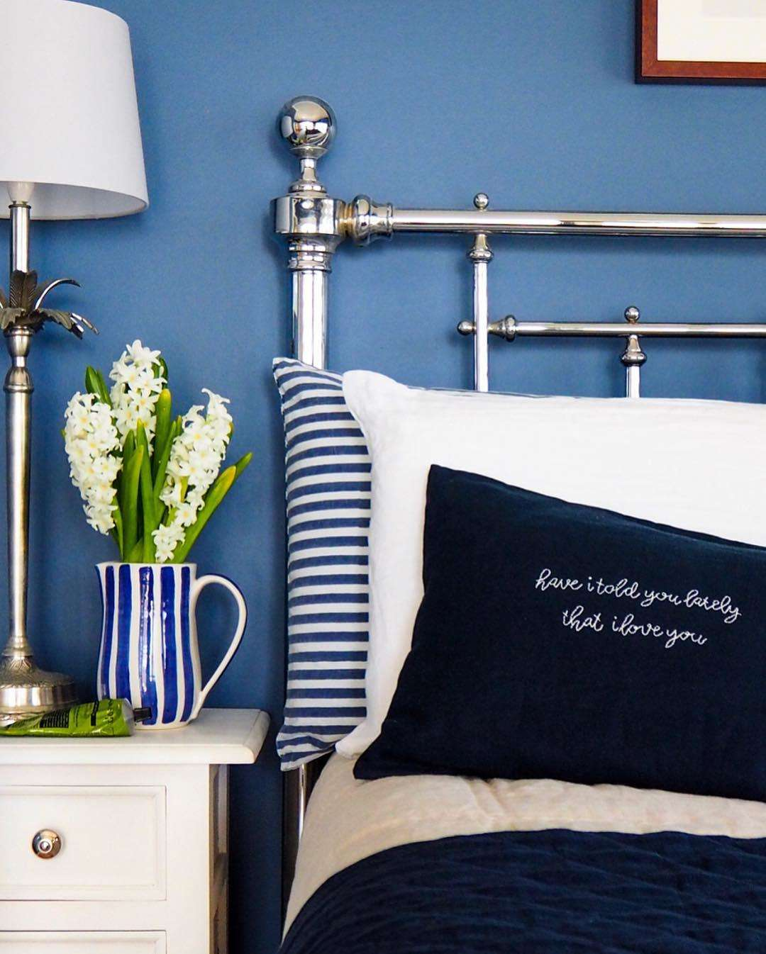 blue inspiration for home decor