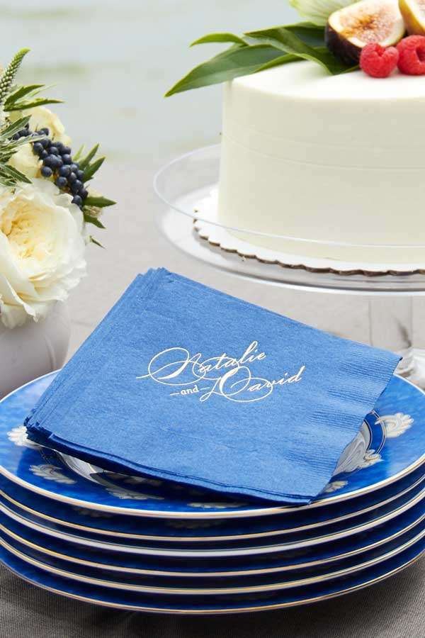 custom 3 ply cocktail napkins