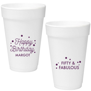 Our custom Matte Eggplant Ink 20 oz Styrofoam Cup with Matte Eggplant Ink Cup Ink Colors couldn't be more perfect. It's time to show off your impeccable taste.
