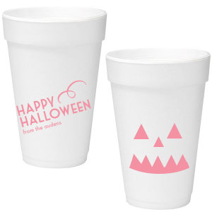 Our custom Matte Rouge Ink 16 oz Styrofoam Cup with Matte Rouge Ink Cup Ink Colors will make your guests swoon. Personalize your party's theme today.
