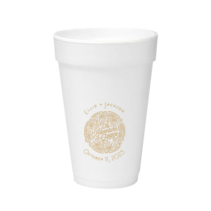 The Adventure Begins Foam Cup