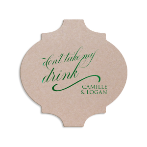 Don't Take My Drink Glam Coaster