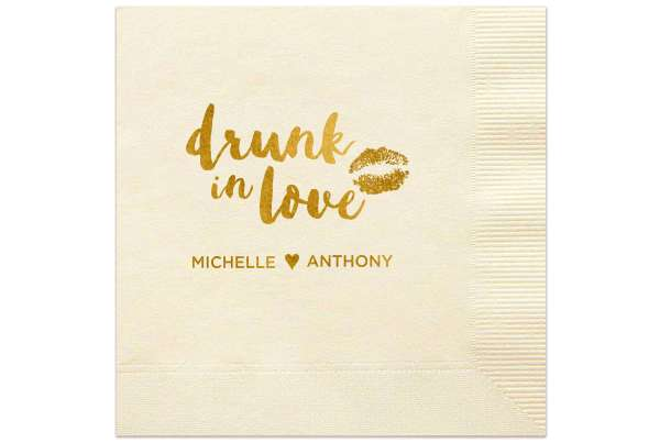 Wedding Quote | Trending Wedding Quotes On Cocktail Napkins For Your Party