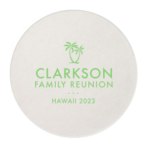 Palm Tree Reunion Coaster