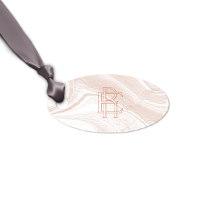 Our beautiful custom Marble Blush Rectangle Gift Tag with Shiny Rose Gold Foil couldn't be more perfect. It's time to show off your impeccable taste.