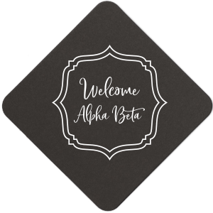 Welcome Sorority Coaster