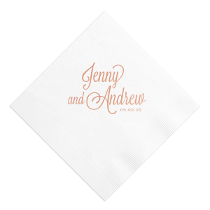 Formal Names Napkin