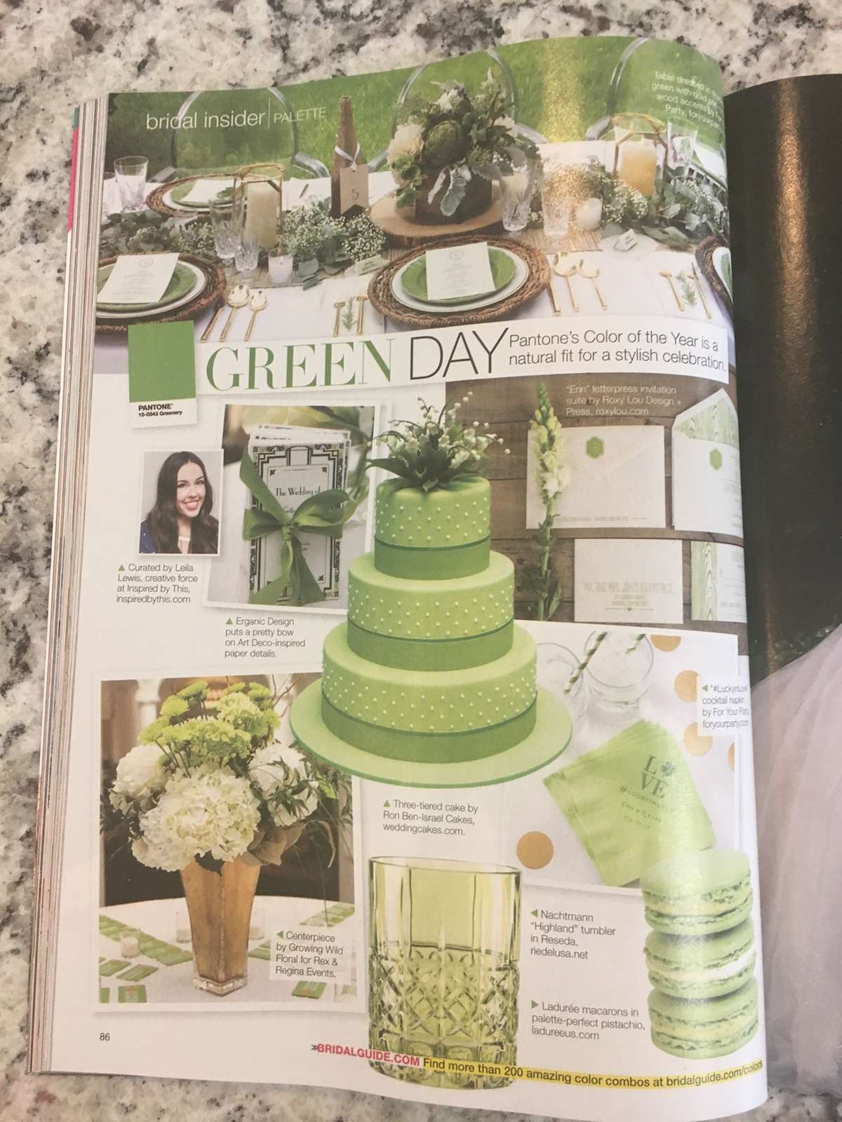 how to incorporate greenery into your theme