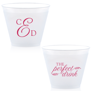 The Perfect Monogram Frost Flex Cup
