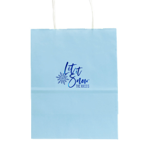 Let It Snowflake Bag