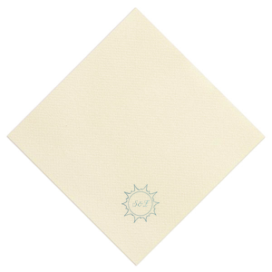 Our custom Dune Heather Dinner Napkin with Shiny Turquoise Foil has a Sunburst graphic and is good for use in Beach/Nautical themed parties and will look fabulous with your unique touch. Your guests will agree!