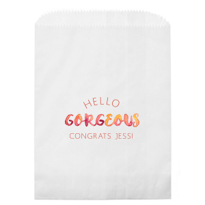 Gorgeous Photo/Full Color Party Bag