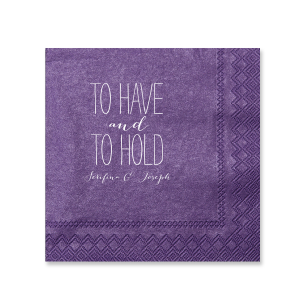 To Have and to Hold Napkin