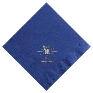 You Did It Graduation Napkin