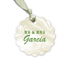 Mr & Mrs Block Tag
