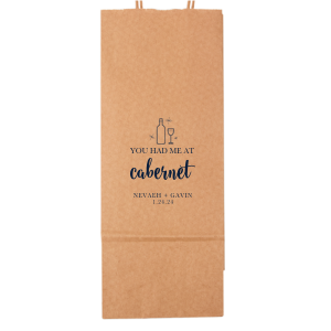 Cabernet Wine Gift Bag