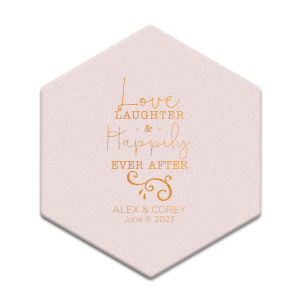 ForYourParty's chic White Square Coaster with Shiny Turquoise Foil has a Fancy Flourish 5 graphic and is good for use in Accents themed parties and will give your party the personalized touch every host desires.