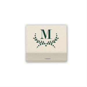 ForYourParty's chic Shimmer Ivory 30 Strike Matchbook with Matte Spruce Foil has a Branch graphic and is good for use in Birthday, Graduation, Wedding and Anniversary themed parties and are a must-have for your next event—whatever the celebration!