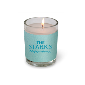 ForYourParty's elegant Stardream Tiffany Blue Votive Candle with Satin Teal / Peacock Foil Color has a Leaf Vine graphic and is good for use in Frames themed parties and will add that special attention to detail that cannot be overlooked.