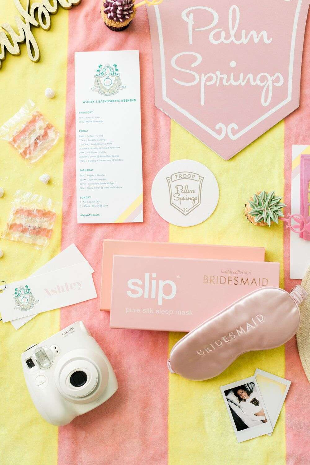 customized bachelorette party accessories and favors