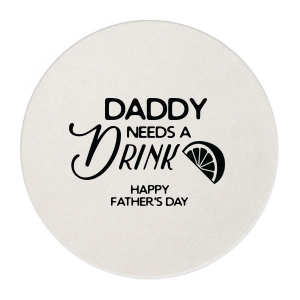 ForYourParty's personalized Kraft w/ Blush back Hexagon Coaster with Shiny Kiwi / Lime Foil has a Lemon Wedge graphic and is good for use in Food, Drinks themed parties and can be personalized to match your party's exact theme and tempo.