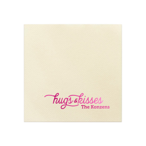 Hugs & Kisses Napkin