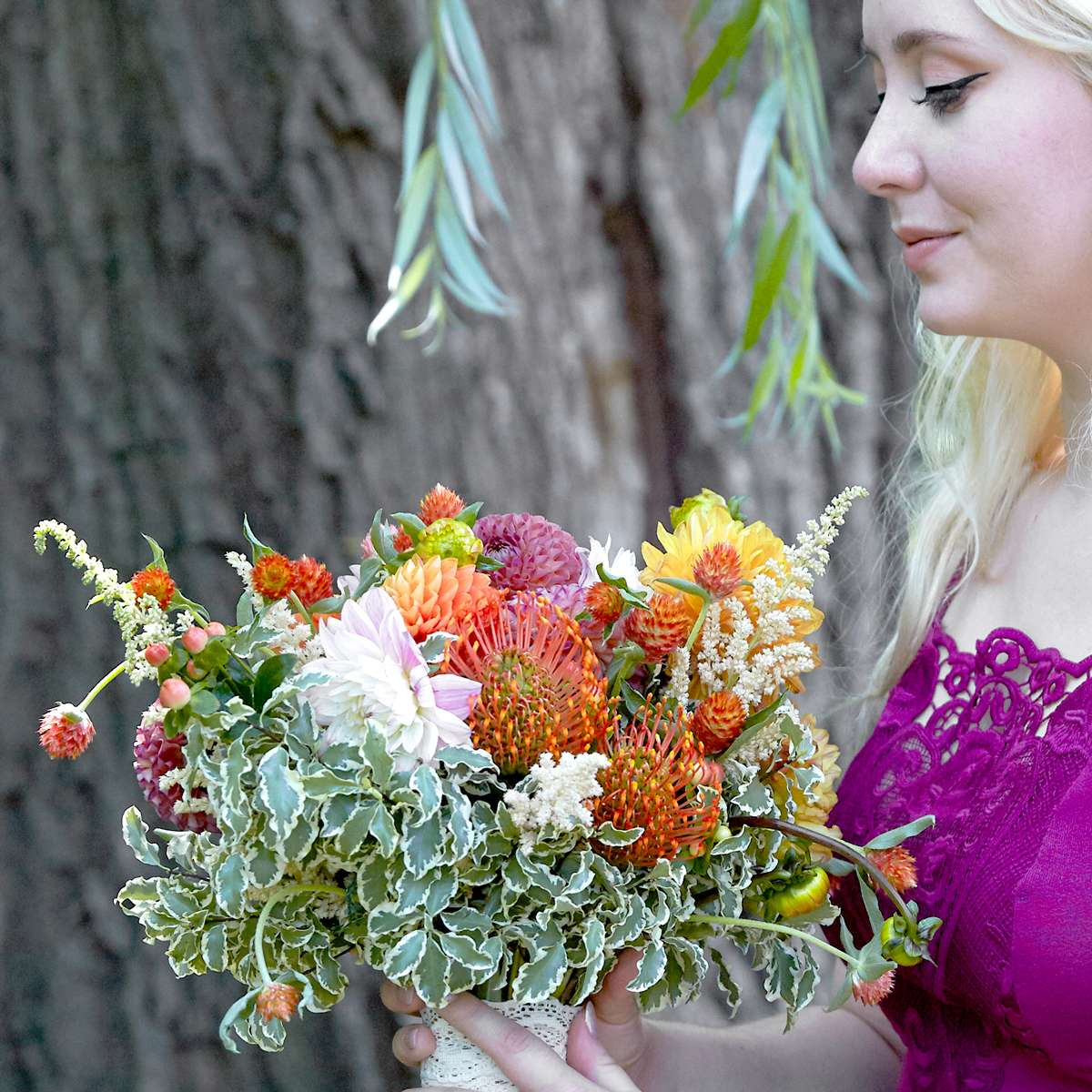 late summer early fall wedding flowers