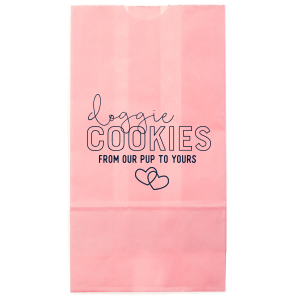 Our custom Pink Party Bag with Matte Navy Foil has a Interlocked Hearts graphic and is good for use in Hearts, Pairs, Wedding themed parties and will make your guests swoon. Personalize your party's theme today.