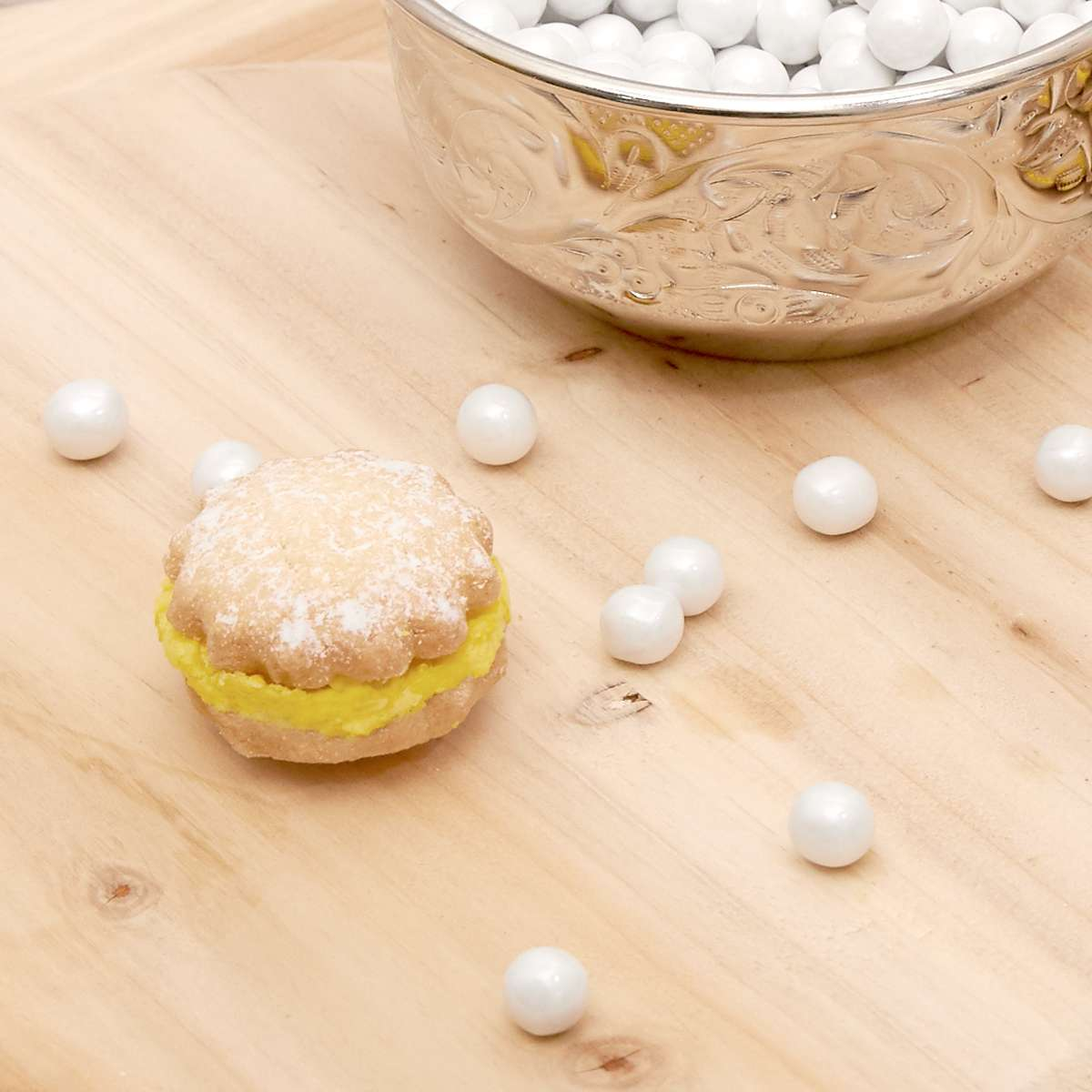 how to make clam pearl cookies for mermaid parties