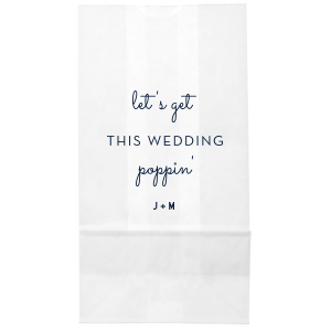 Poppin' Wedding Bag
