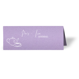 It's Par-Tea time! Send guests (par-tea animals) to their seats with festive personalized place cards. Choose your paper and foil colors to match your theme and impress your friends. Our hand lettered calligraphy font and Tea Pot clipart will complement your tea party beautifully.