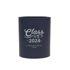 Our custom Navy Flat Can Cooler with Matte Mint Ink Cup Ink Colors couldn't be more perfect. It's time to show off your impeccable taste.
