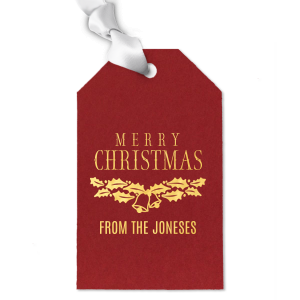 Holiday Bells Gift Tag