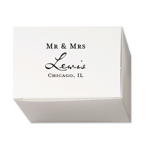 Modern Vintage Mr & Mrs Box