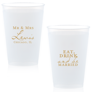 Modern Vintage Mr & Mrs Frost Flex Cup