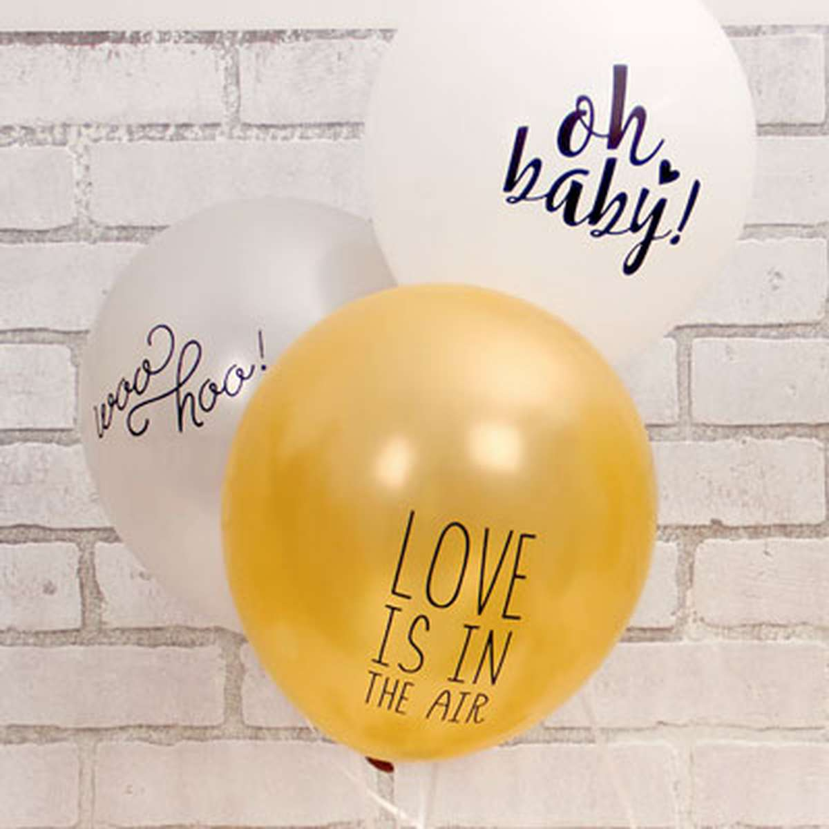party balloons with cute sayings
