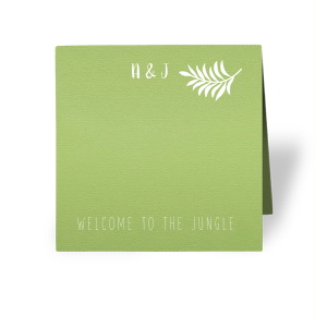 Jungle Place Card