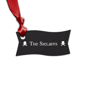 Our custom Natural Black Rectangle Gift Tag with Matte White Foil are a must-have for your next event—whatever the celebration!