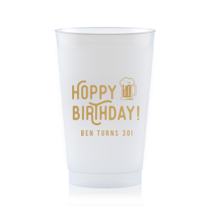 Hoppy Birthday Frost Flex Cup