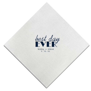 Best Day Modern Napkin