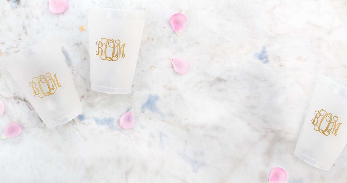 Shop cups for your wedding, party or event!