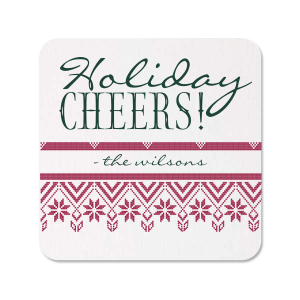 Our beautiful custom Photo/Full Color Coaster with Matte Spruce Digital Print Colors will look fabulous with your unique touch. Your guests will agree!