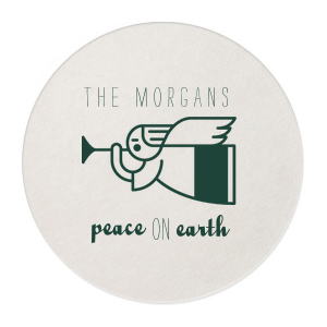 Our custom White Square Coaster with Matte Spruce Foil Color has a Angel 2 graphic and is good for use in Christian Symbols, Christmas themed parties and will look fabulous with your unique touch. Your guests will agree!