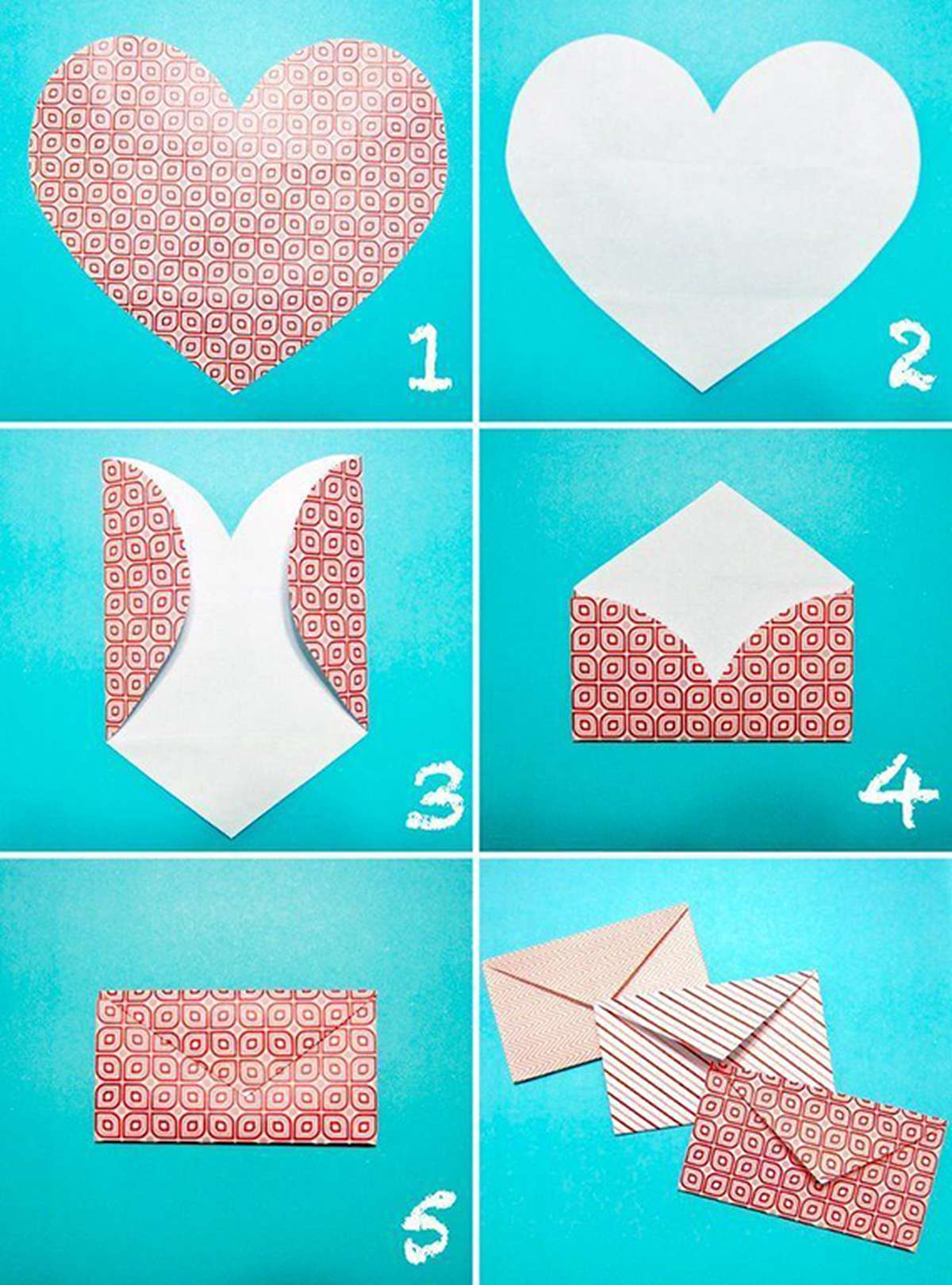 Heart Envelope DIY