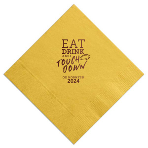 Eat Drink and Touchdown Napkin