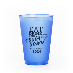 Eat Drink And Touchdown Frost Flex Cup