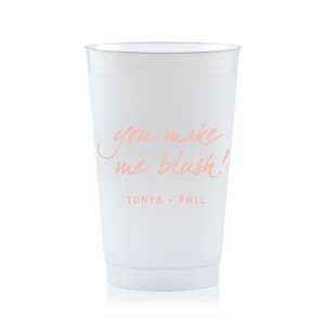 You Make Me Blush Frost Flex Cup