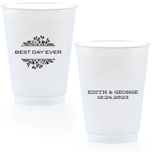 Best Day Ever Floral Frost Flex Cup