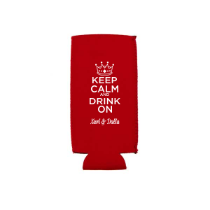 Keep Calm Crown Can Cooler