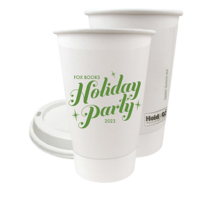 Sparkle Holiday Party Paper Cup